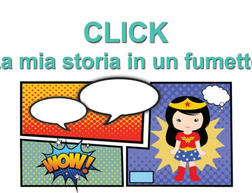 Click – la mia storia in un fumetto