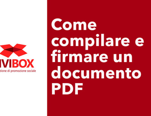 Come compilare e firmare un documento PDF