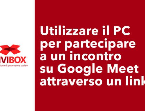 Utilizzare il PC  per partecipare a un incontro su Google Meet attraverso un link