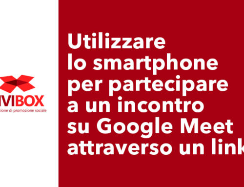 Utilizzare lo smartphone  per partecipare a un incontro su Google Meet attraverso un link