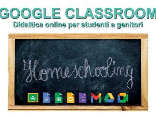 Google Classroom – quartiere 1