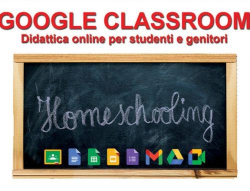 Google Classroom – quartiere 4
